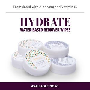 Wrap & lacquer remover pads (water based)